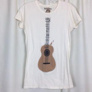 Threadless, vintage music print, t-shirt, L, EUC.